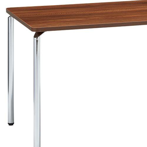 会議用テーブル AR-1575 W1500×D750×H700(mm) クロームメッキ4本脚テーブル リフレッシュ・ラウンジテーブル商品画像7