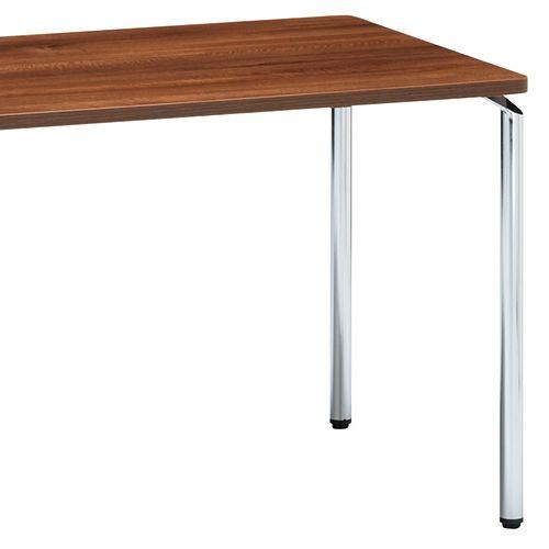 会議用テーブル AR-1575 W1500×D750×H700(mm) クロームメッキ4本脚テーブル リフレッシュ・ラウンジテーブル商品画像8