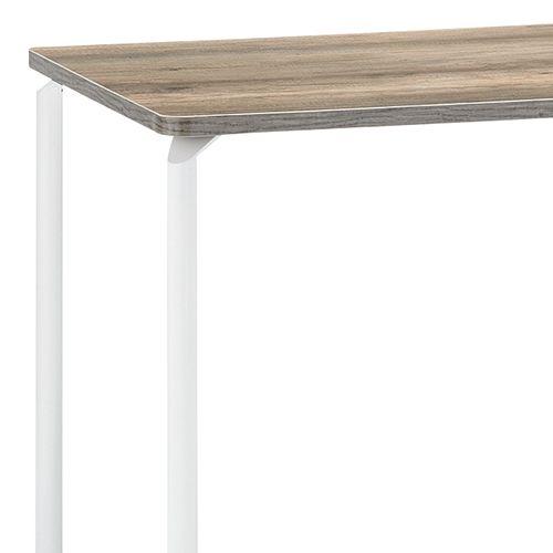 会議用テーブル ARW-1275 W1200×D750×H700(mm) ホワイト粉体塗装4本脚テーブル リフレッシュ・ラウンジテーブル商品画像4