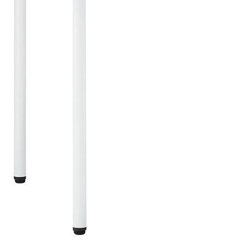 会議用テーブル ARW-1275 W1200×D750×H700(mm) ホワイト粉体塗装4本脚テーブル リフレッシュ・ラウンジテーブル商品画像6