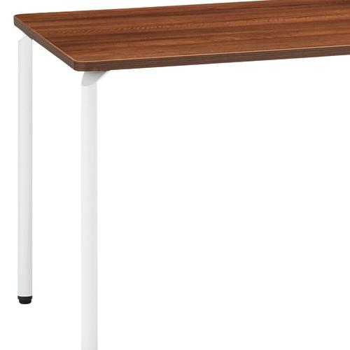 会議用テーブル ARW-1275 W1200×D750×H700(mm) ホワイト粉体塗装4本脚テーブル リフレッシュ・ラウンジテーブル商品画像7