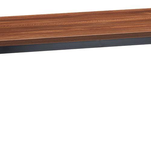 会議用テーブル 4本脚テーブル スチールパイプ・ブラック塗装 ATB-1875 W1800×D750×H700(mm)商品画像9