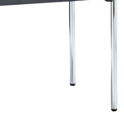 会議用テーブル 4本脚テーブル スチールパイプ・クロームメッキ ATM-1275 W1200×D750×H700(mm)商品画像9