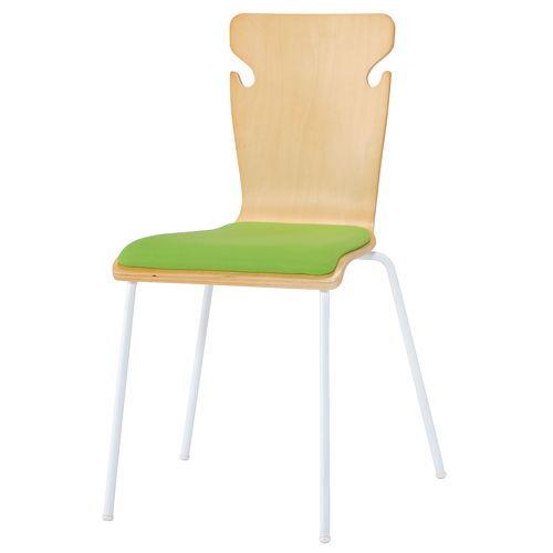 学校(スクール)家具 井上金庫(イノウエ) スクール・セミナー用木製チェア BSC-W19商品画像2