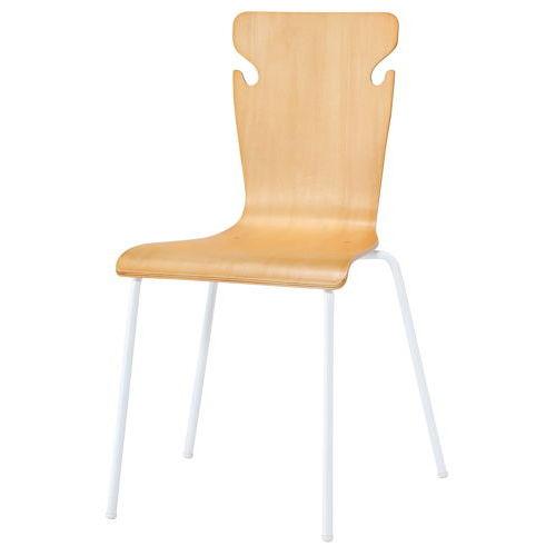 学校(スクール)家具 井上金庫(イノウエ) スクール・セミナー用木製チェア BSC-W19商品画像4