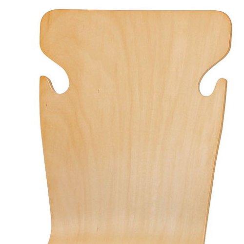 学校(スクール)家具 井上金庫(イノウエ) スクール・セミナー用木製チェア BSC-W19商品画像6