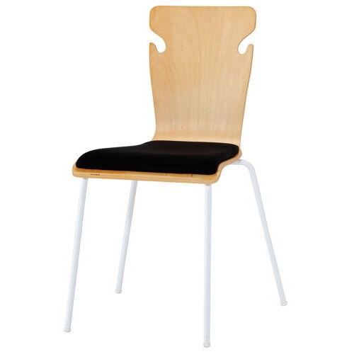 学校(スクール)家具 井上金庫(イノウエ) スクール・セミナー用木製チェア BSC-W19のメイン画像
