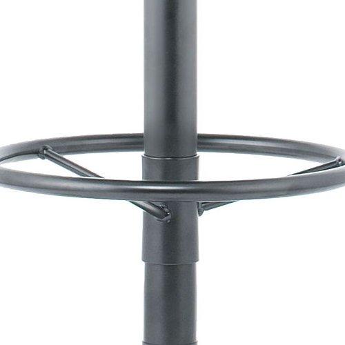 ハイスツールチェア 井上金庫(イノウエ) BTB-30 キャスター脚 布張り 肘なし商品画像8