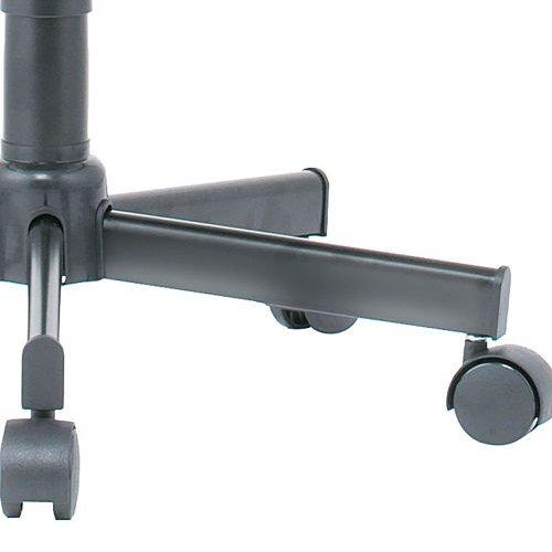 ハイスツールチェア 井上金庫(イノウエ) BTB-30 キャスター脚 布張り 肘なし商品画像9