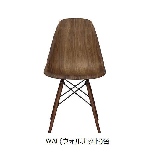チェア AZUMAYA(東谷) CL-894 ABS樹脂 木目調商品画像3