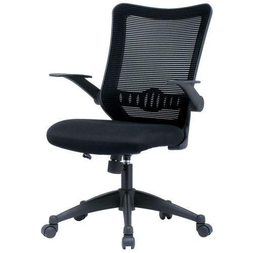 【廃番】チェア(椅子) 井上金庫(イノウエ) メッシュチェア ハイバック CPB-15A 肘ありのメイン画像