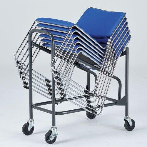 会議椅子 台車 CSD-20 イノウエ(井上金庫)製スタッキングチェア専用台車商品画像2