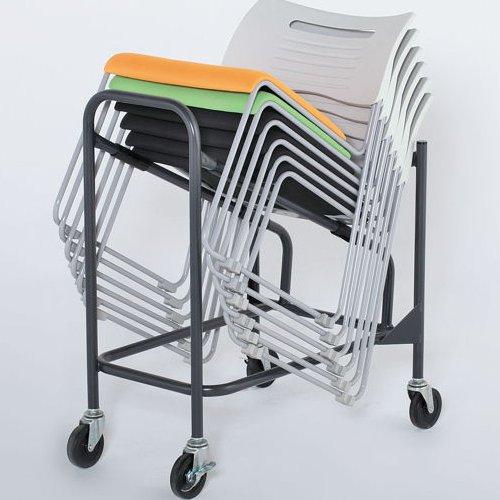 会議椅子 台車 CSD-20 イノウエ(井上金庫)製スタッキングチェア専用台車商品画像3