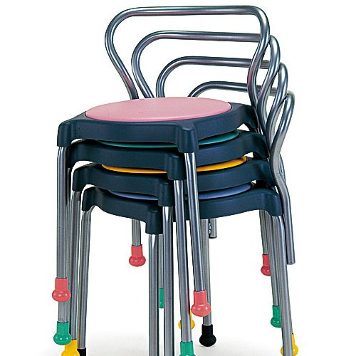 介護用丸椅子 cuppo-B 背付き商品画像5