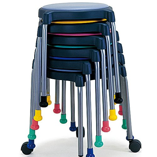 【廃番】介護用丸椅子 井上金庫(イノウエ) cuppo-C 背なし商品画像5
