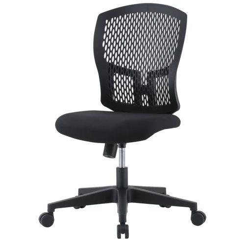 チェア(椅子) 井上金庫(イノウエ) 樹脂メッシュチェア D4C-07 肘なしのメイン画像