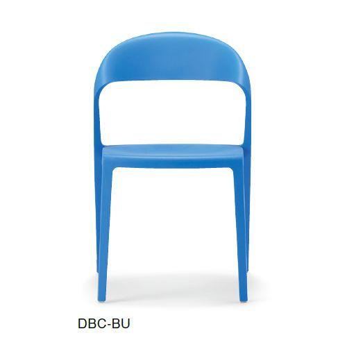 スタッキングチェア DBC デュオブロック 肘なし 強化P.P.樹脂成形品商品画像2