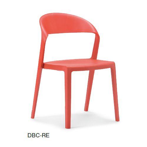 スタッキングチェア DBC デュオブロック 肘なし 強化P.P.樹脂成形品商品画像3