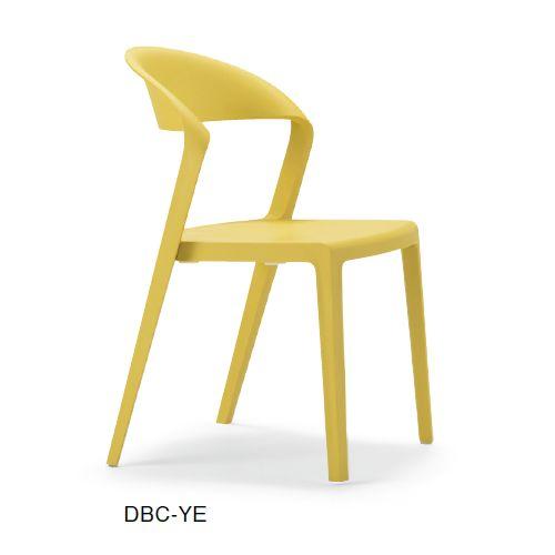 スタッキングチェア DBC デュオブロック 肘なし 強化P.P.樹脂成形品商品画像4