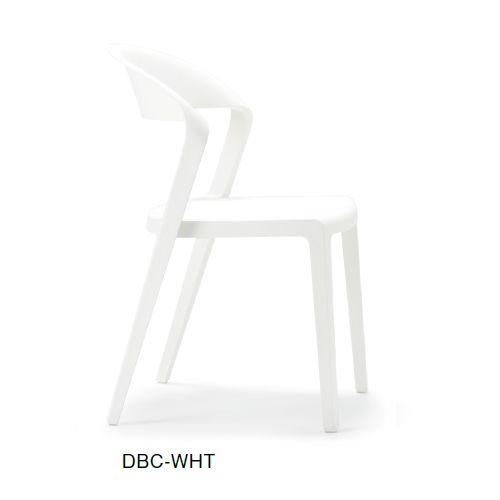 スタッキングチェア DBC デュオブロック 肘なし 強化P.P.樹脂成形品商品画像5