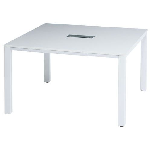 テーブル(会議用) フリーアドレステーブル 正方形天板 基本セット DRT-1212 W1200×D1200×H700(mm)商品画像2