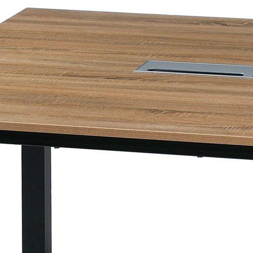 テーブル(会議用) フリーアドレステーブル 正方形天板 基本セット DRT-1212 W1200×D1200×H700(mm)商品画像7