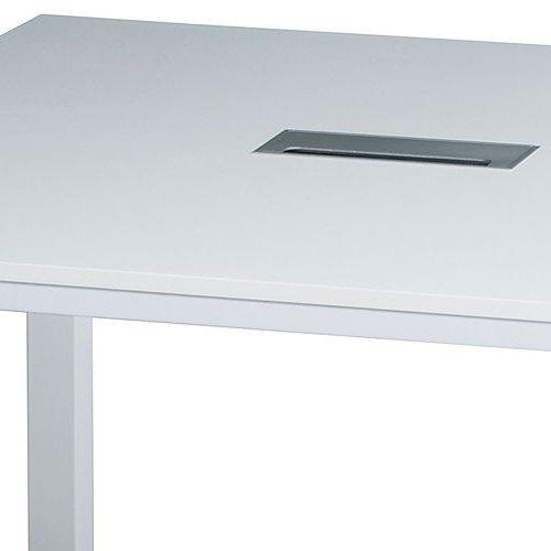 テーブル(会議用) フリーアドレステーブル 正方形天板 基本セット DRT-1212 W1200×D1200×H700(mm)商品画像8