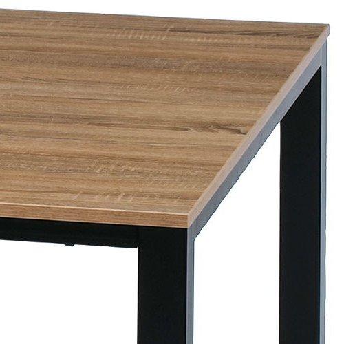 テーブル(会議用) フリーアドレステーブル 正方形天板 基本セット DRT-1212 W1200×D1200×H700(mm)商品画像9