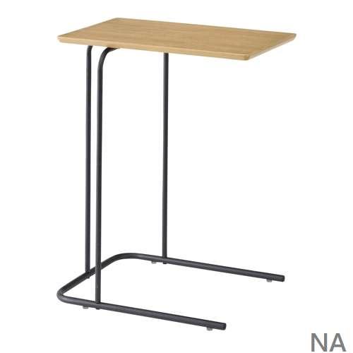 サイドテーブル アーロン END-222 スチール脚 アジャスター付き ブラックフレーム商品画像3