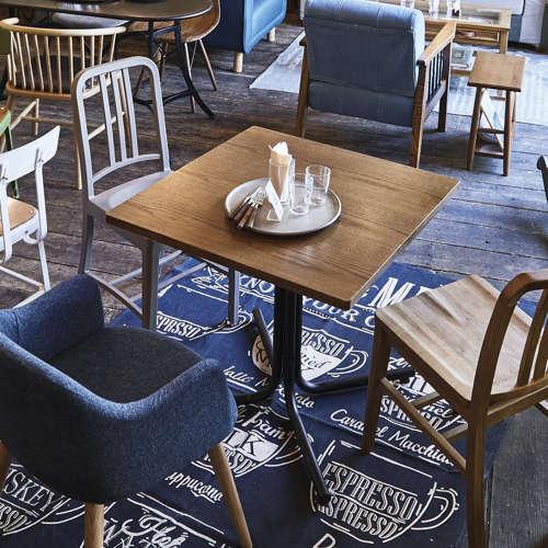 ダリオ カフェテーブル AZUMAYA(東谷) END-223T W750×D750×H670(mm) 正方形天板商品画像3