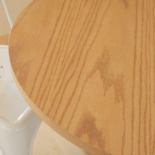 ダリオ カフェテーブル AZUMAYA(東谷) END-225T W800×D800×H670(mm) 円形天板商品画像6