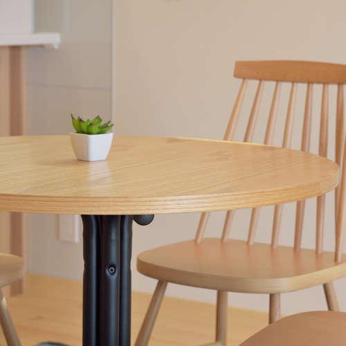 ダリオ カフェテーブル AZUMAYA(東谷) END-225T W800×D800×H670(mm) 円形天板商品画像7