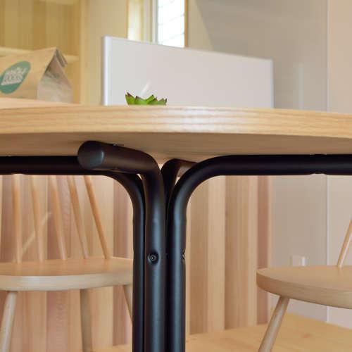ダリオ カフェテーブル AZUMAYA(東谷) END-225T W800×D800×H670(mm) 円形天板商品画像8