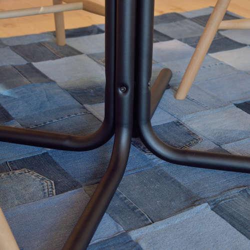 ダリオ カフェテーブル AZUMAYA(東谷) END-225T W800×D800×H670(mm) 円形天板商品画像9
