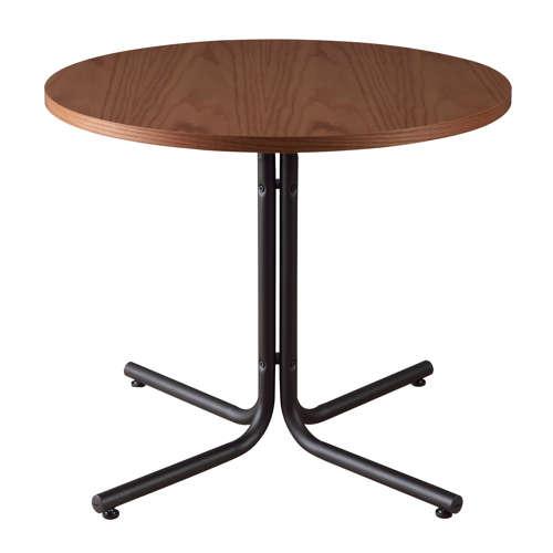 ダリオ カフェテーブル AZUMAYA(東谷) END-225T W800×D800×H670(mm) 円形天板のメイン画像