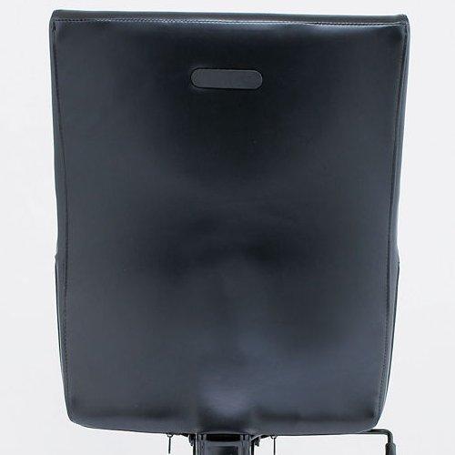 チェア(椅子) プレジデントチェア スチールメッキ脚タイプ ERA-17M 肘なし商品画像1