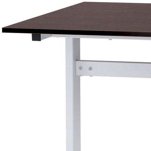 テーブル(会議用) 井上金庫(イノウエ) 2本脚(T字型) FAT-1275 W1200×D750×H700(mm)商品画像3