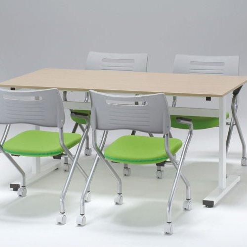 テーブル(会議用) 2本脚(T字型) FAT-1590 W1500×D900×H700(mm)商品画像6
