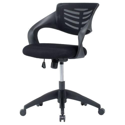 【廃番】チェア(椅子) 井上金庫(イノウエ) メッシュチェア ローバック FBC-23のメイン画像