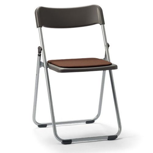 スライド式折りたたみ椅子 アイコ アルミパイプ FCA-19S フラット収納チェア商品画像3