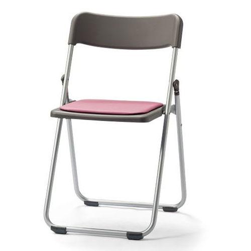 会議椅子 スライド式折りたたみ椅子 アルミパイプ FCA-19S フラット収納チェア商品画像5