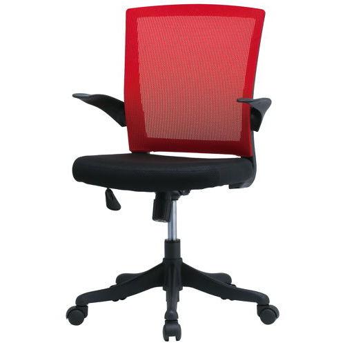 チェア(椅子) 井上金庫(イノウエ) メッシュチェア FEM-14A 肘あり商品画像3