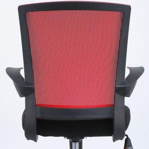 チェア(椅子) 井上金庫(イノウエ) メッシュチェア FEM-14A 肘あり商品画像7