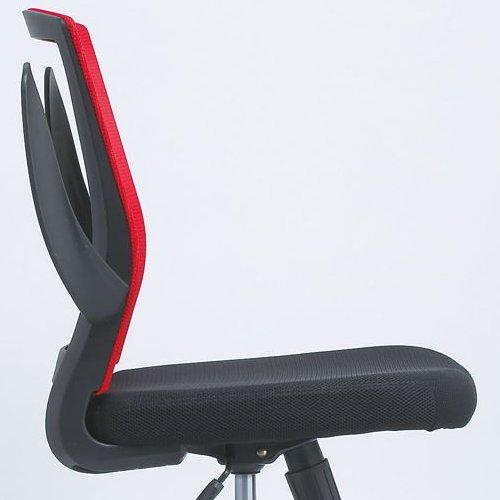 チェア(椅子) 井上金庫(イノウエ) メッシュチェア FEM-14A 肘あり商品画像9