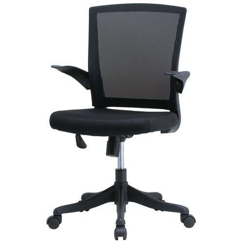 チェア(椅子) 井上金庫(イノウエ) メッシュチェア FEM-14A 肘ありのメイン画像