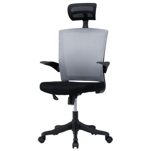 チェア(椅子) 井上金庫(イノウエ) メッシュチェア ヘッドレスト付きタイプ FEM-H21A 肘あり商品画像2