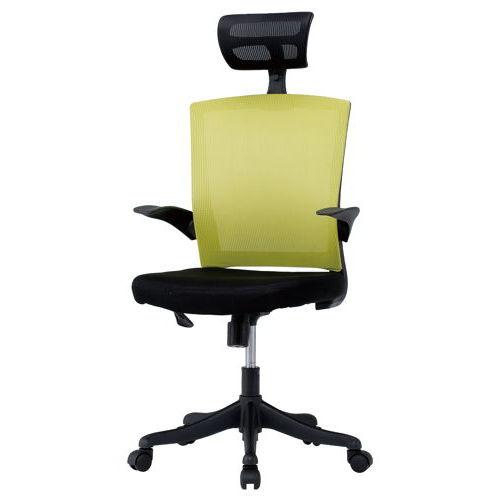 チェア(椅子) 井上金庫(イノウエ) メッシュチェア ヘッドレスト付きタイプ FEM-H21A 肘あり商品画像5