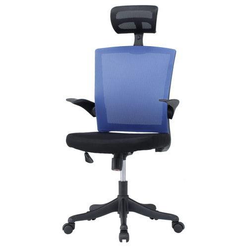 チェア(椅子) 井上金庫(イノウエ) メッシュチェア ヘッドレスト付きタイプ FEM-H21A 肘あり商品画像6