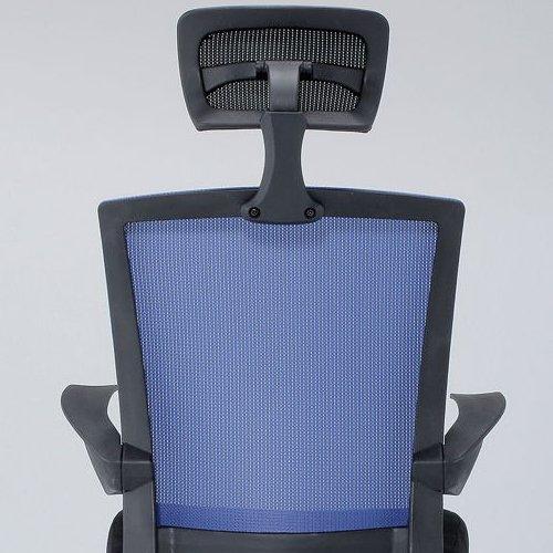 チェア(椅子) 井上金庫(イノウエ) メッシュチェア ヘッドレスト付きタイプ FEM-H21A 肘あり商品画像7