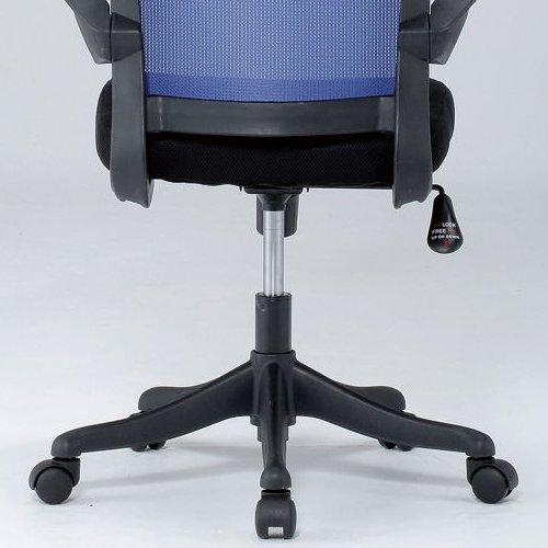 チェア(椅子) 井上金庫(イノウエ) メッシュチェア ヘッドレスト付きタイプ FEM-H21A 肘あり商品画像10